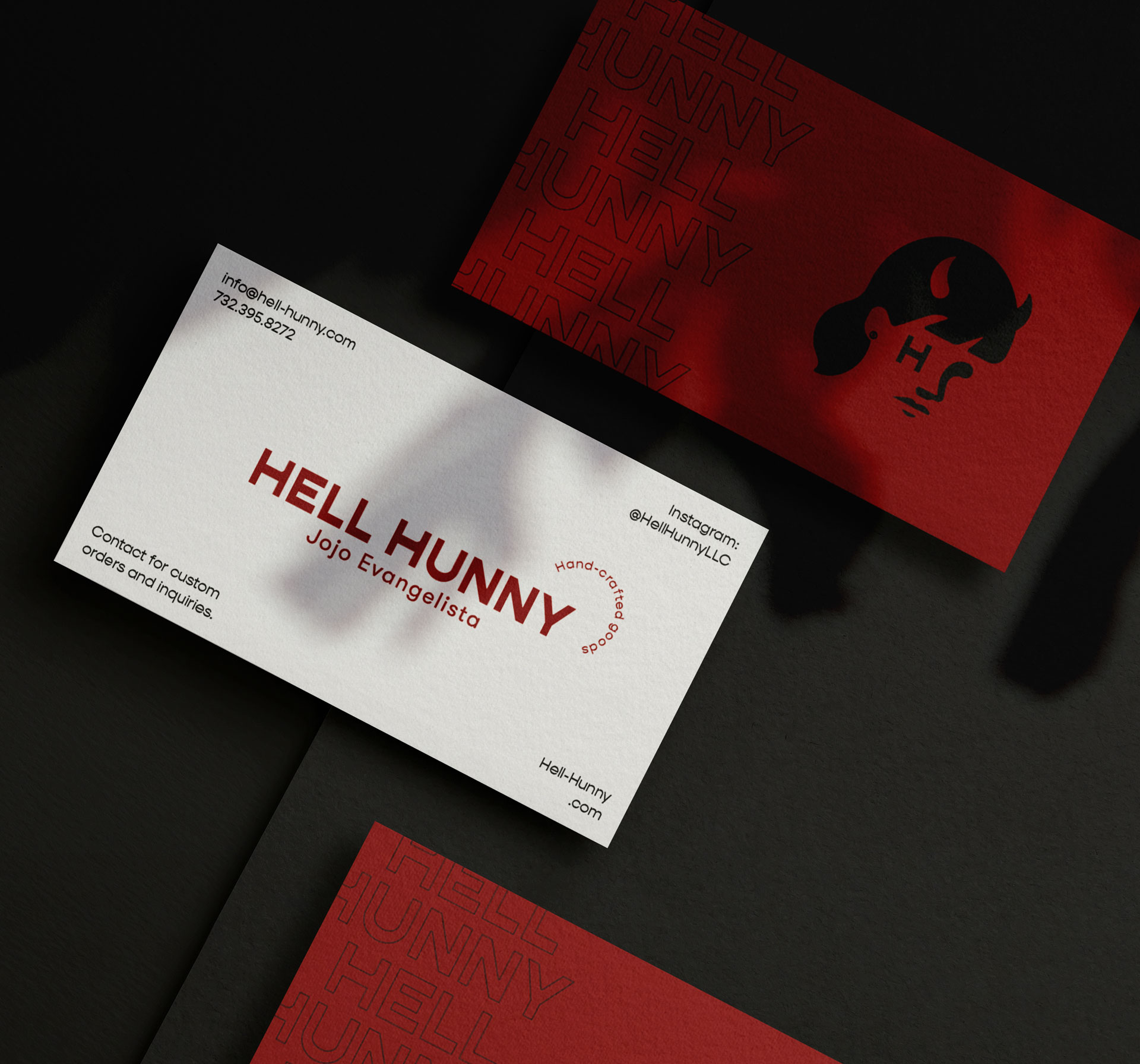 Hell-Hunny_Business-Card_Portfolio_HomePage